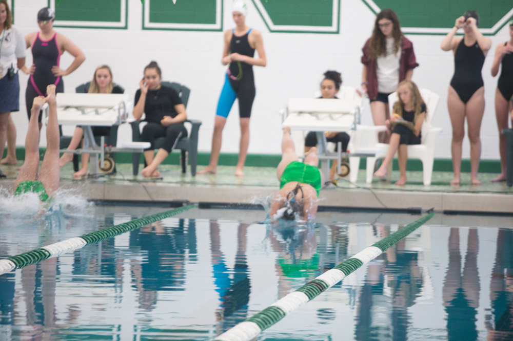 Girls Swimming/Diving - Fish Bowl VS Natrona 2017